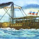 Как в России придумали слово «пароход»? Есть конкретный год, есть конкретный человек